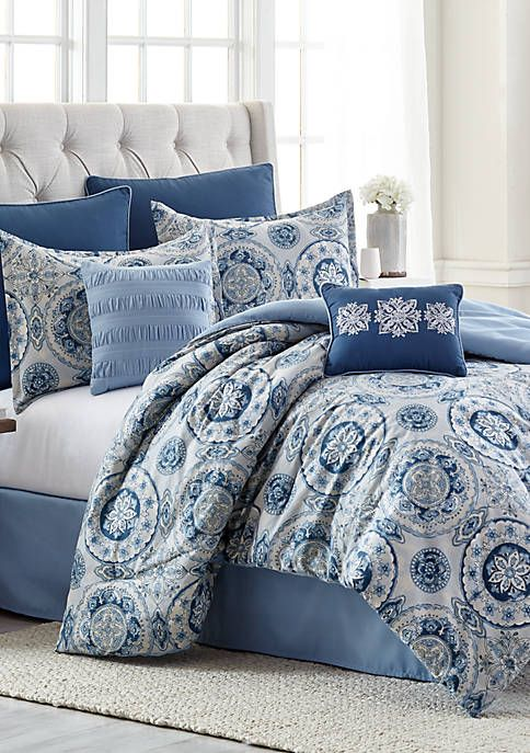 Modern Southern Home Anita 8 Piece Comforter Bed In A Bag