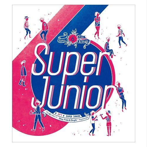 SUPER JUNIOR – SPY – The 6th Album Repackage