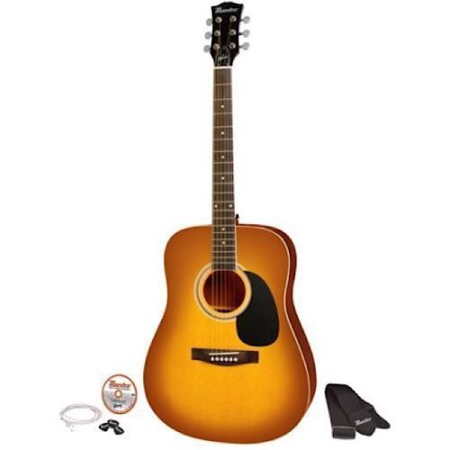 New Acoustic Guitar Kit 41 Maestro By Gibson Guitars For Beginners Picks Strap Maestrobygibson Acoustic Guitar Kits Acoustic Guitar Guitar