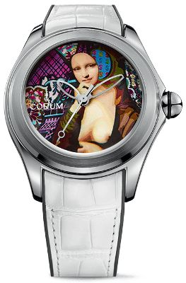 Luxury watches: Corum Bubble 47 Elisabetta Fantone
