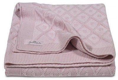 diamond knit oud roze