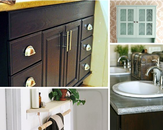 DIY Home Improvement Projects for the Bathroom by DIY Ready at http://diyready.com/small-budget-big-impact-upgrades/