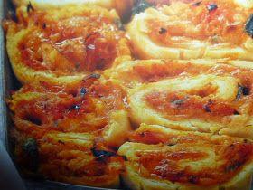 un mondo di ricette: rotoli di pizza