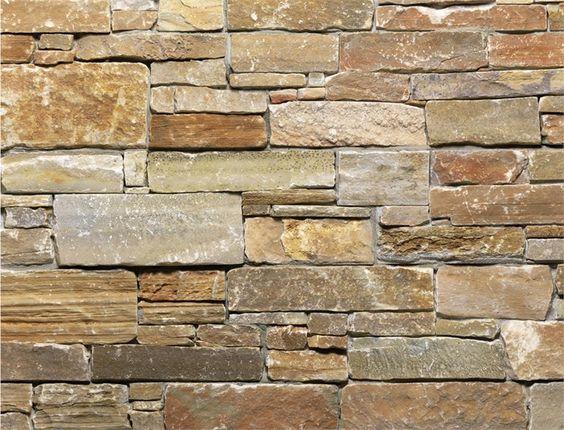 Revestimiento de fachada de piedra natural scaglia canyon - Paredes de piedra natural ...