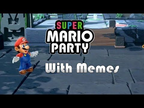 Super Mario Party The Lost Memes Youtube Super Mario Party Lost Memes Mario Party