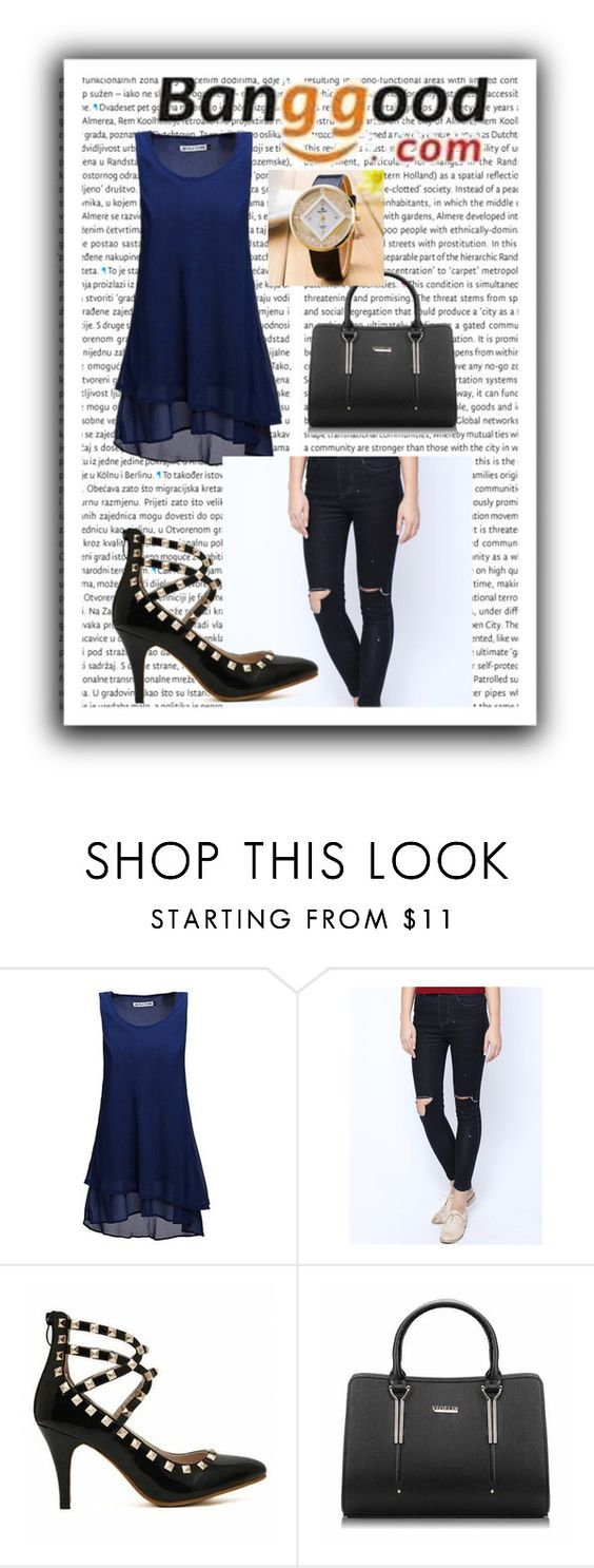 """Banggood III/6"" by m-sisic ❤ liked on Polyvore featuring Oris"