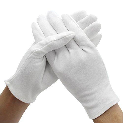 Amariver 12 Pairs White Cotton Gloves 9 4 Extra Large Https Www Amazon Com Dp B0725sbj4t Ref Cm Sw R Pi D Gardening Gloves Cotton Gloves Formal Gloves