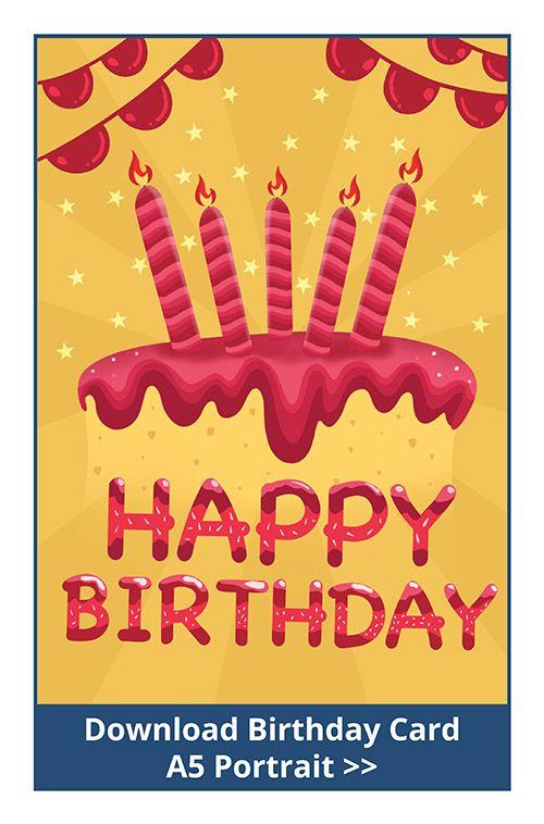 Free Downloadable Birthday Cards Birthday Cards Download Birthday Cards Free Birthday Printables