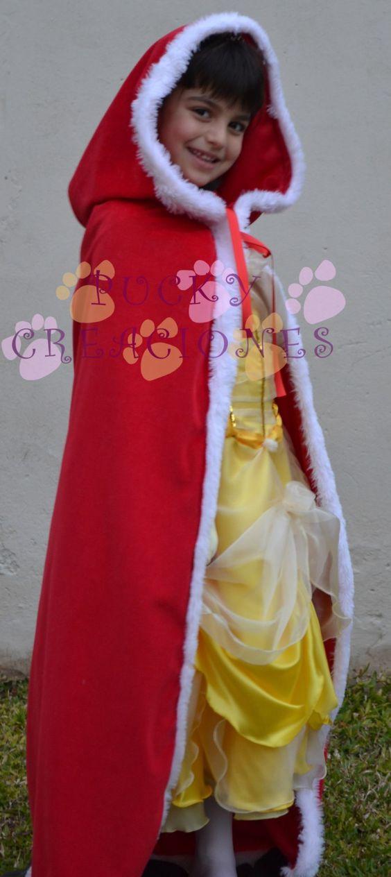 Disfraz De Bella De La Bella Y La Bestia Con Capa Vestido