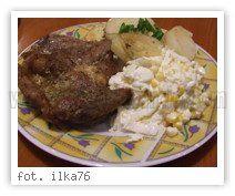 Wielkie Żarcie - Przepis - Karkówka na ziemniakach