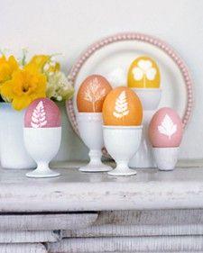 Técnicas de pintura de ovos de páscoa. ~ Arte De Fazer | Decoração e Artesanato