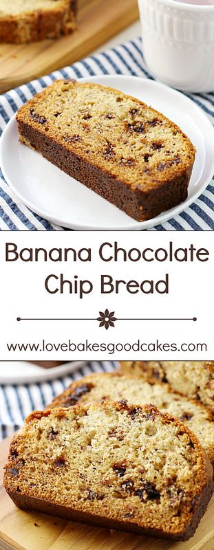 chocolate chip bread banana chocolate chips banana chocolate chocolate ...