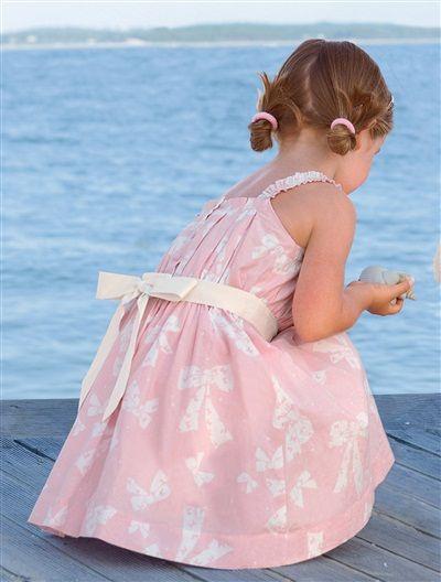 Robe de cérémonie imprimée fille ROSE POUDRE IMPRIME - vertbaudet enfant