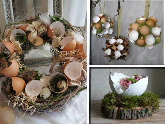 Riciclo gusci delle uova: più di 20 idee per decorare di tutto