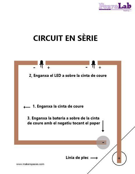 Circuits en paper – Circuit en sèrie