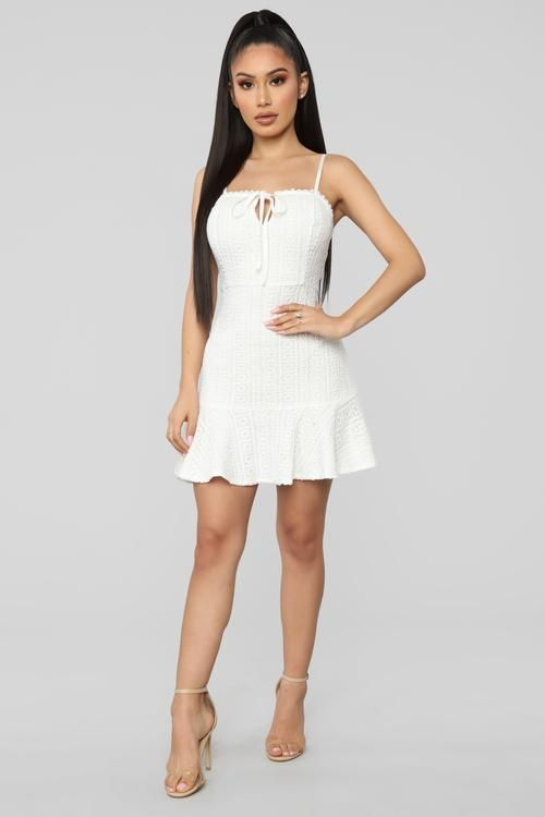 Crochet Cutie Mini Dress White Mini Dress White Mini Dress Dresses