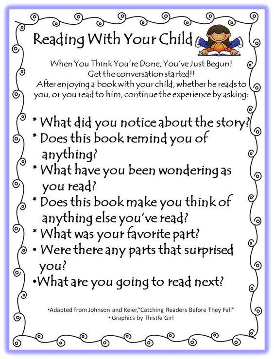 Parents Parents As Teachers Teaching Reading Classroom