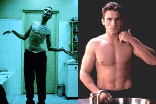 5 actors whose transformations have produced the most dramatic results.