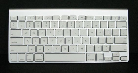 Apple Ultra Thin Wireless Bluetooth Keyboard A1255 Tested Works Wireless Keyboard Ideas Of Wireless Keyboard W Keyboard Bluetooth Keyboard Smart Alarm