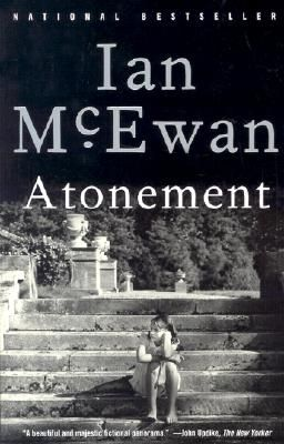 Atonement by Ian McEwan. 2015 Reading Challenge. A book with a one word title. Oh my goodness! The tears! What a fantastic, thought-provoking novel.: