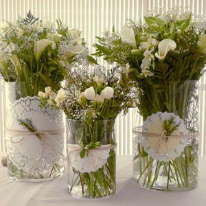 C mo decorar un jarron provenzal manualidades con blondas - Decorar con manualidades ...