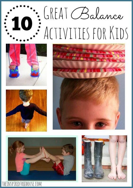 actividades de motricidad gruesa para mantener el equilibrio niños