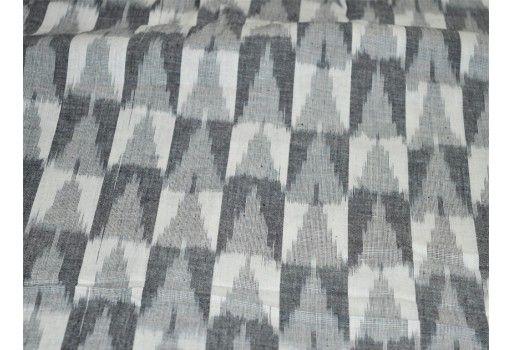Ikat Fabric By Yard Handloom Ikat Cotton Fabric Homespun Cotton