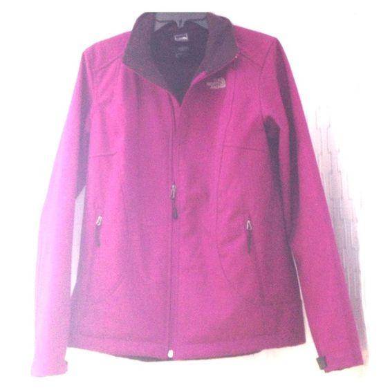 Purple NorthFace fleece jacket Women's size large purple NorthFace fleece zip up North Face Jackets & Coats Utility Jackets