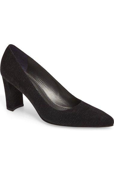 STUART WEITZMAN Dappertessa Pointy Toe Pump (Women). #stuartweitzman #shoes #pumps