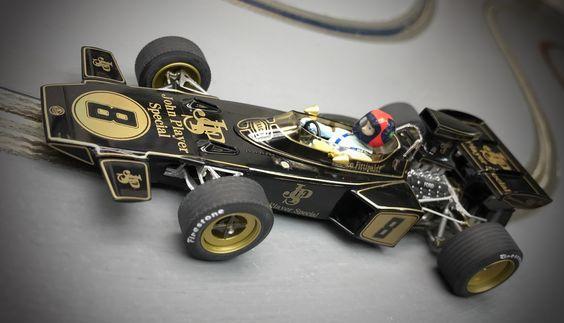 Policar Lotus 72 - Emerson Fittipaldi - Monaco 1972