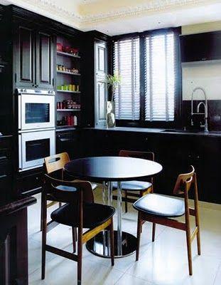 I may soon paint my kitchen black.