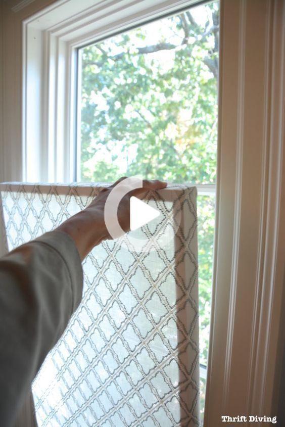 So Erstellen Sie Einen Hubschen Diy Fenster Datenschutzbildschirm Badezimmer Ohne Fenster Fenster Design Fenster