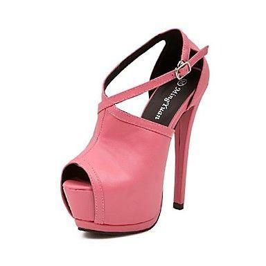 Damenschuhe Plattform Pfennigabsatz Pumpen Schuhe mehr Farben erhältlich