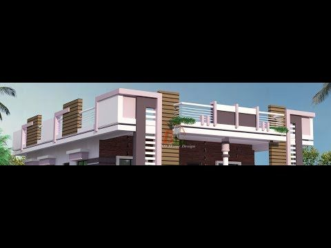 Modern Parapet Wall Design Gallery Youtube In 2020 Parapet Wall Design House Front
