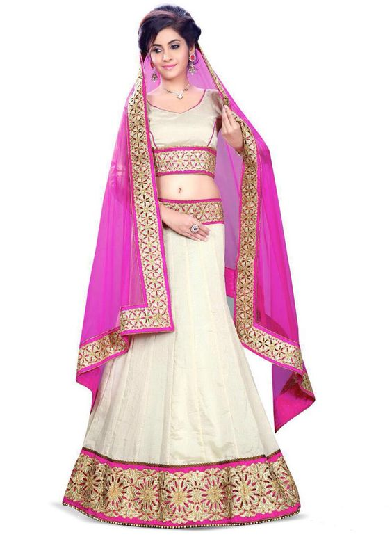 Nice A Line Lehenga Choli For Wedding