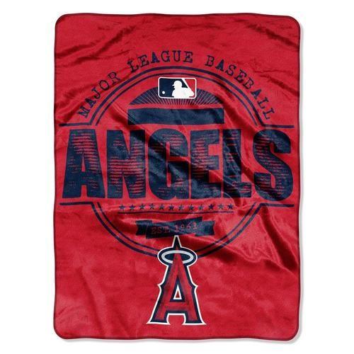 Los Angeles Angels LA Fleece Blanket Throw Large Micro Raschel