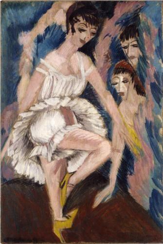 Ernst Ludwig Kirchner, Dancer, 1914