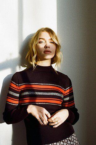 Stunning Stripe Crew-Neck Sweater