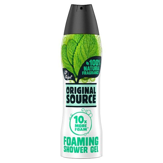 Original Source Mint Tea Tree Foaming Shower Gel 180ml Shower