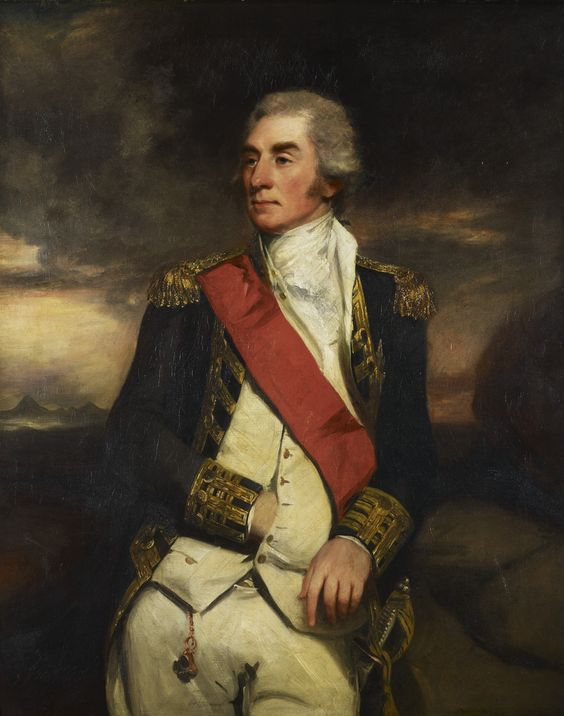 "Admiral Croft from "" Persuasion""   (George Keith Elphinstone, later Viscount Keith (1746-1823) Hoppner"