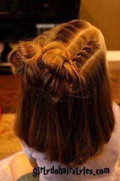 Dance Recital Hairstyles For Short Hair Hairstyles Hair Styles Kids Hairstyles Girl Hair Dos