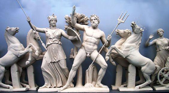 Resultado de imagen de imagen Frontón Occidental del Partenón: Nacimiento de Atenas             (425-420 a C).