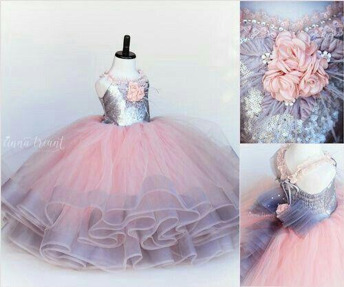 Tutu Yang Cantik Vestidos De Fiesta Para Niñas Vestidos