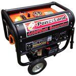 Powerland Portable Gas Generator 4400 Watt, 6.5 HP with Electric Start