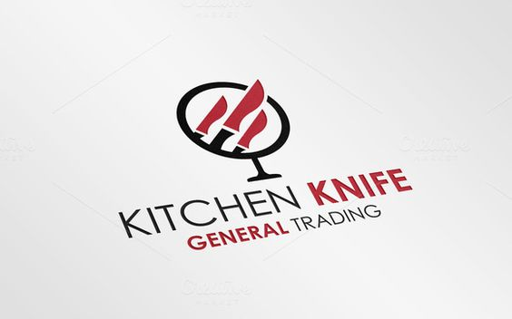 Kitchen / Restaurant Logo Template by JigsawLab on Creative Market