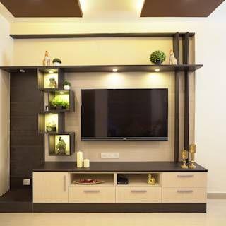Entertainment Unit In Living Area Homelane Com Modern Living Room Homify Living Room Design Small Spaces Tv Room Design Living Room Tv Unit Designs
