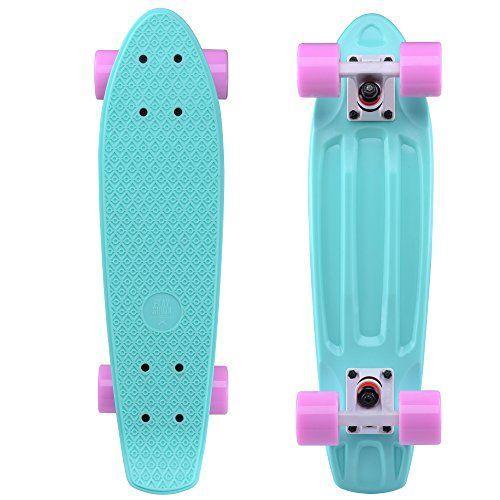 Playshion Skateboard Complete Cruiser for Kids Girls Boys Beginner