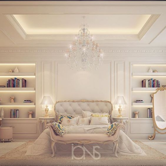 Bedroom design private palace bedroom designs by ions for Living room ideas dubai