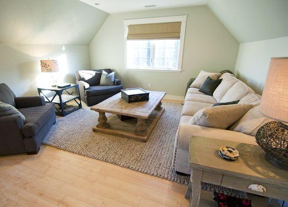 Room above garage and interior design center blog for Room over garage design ideas