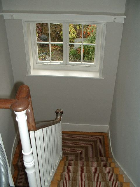 Manning Interiors: Farrow & Ball Cornforth White walls with All White trim by paula222, via Flickr